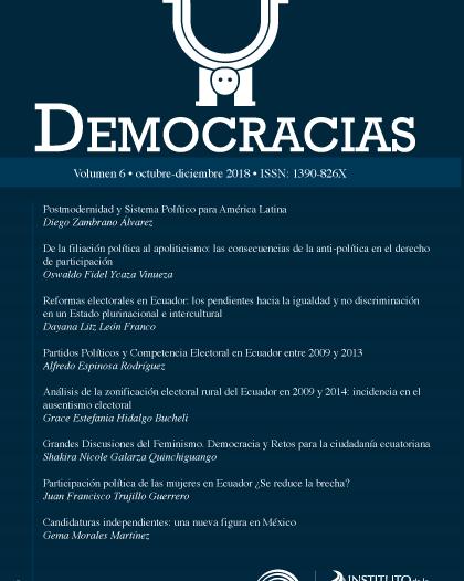 Revista Democracias 6