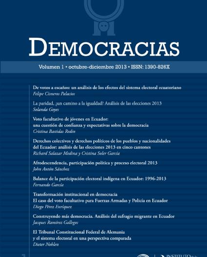 Revista Democracias 1