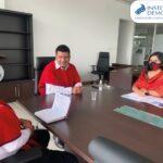 Reunión con el Ministro de la Gestión y Desarrollo de Pueblos y Nacionalidades