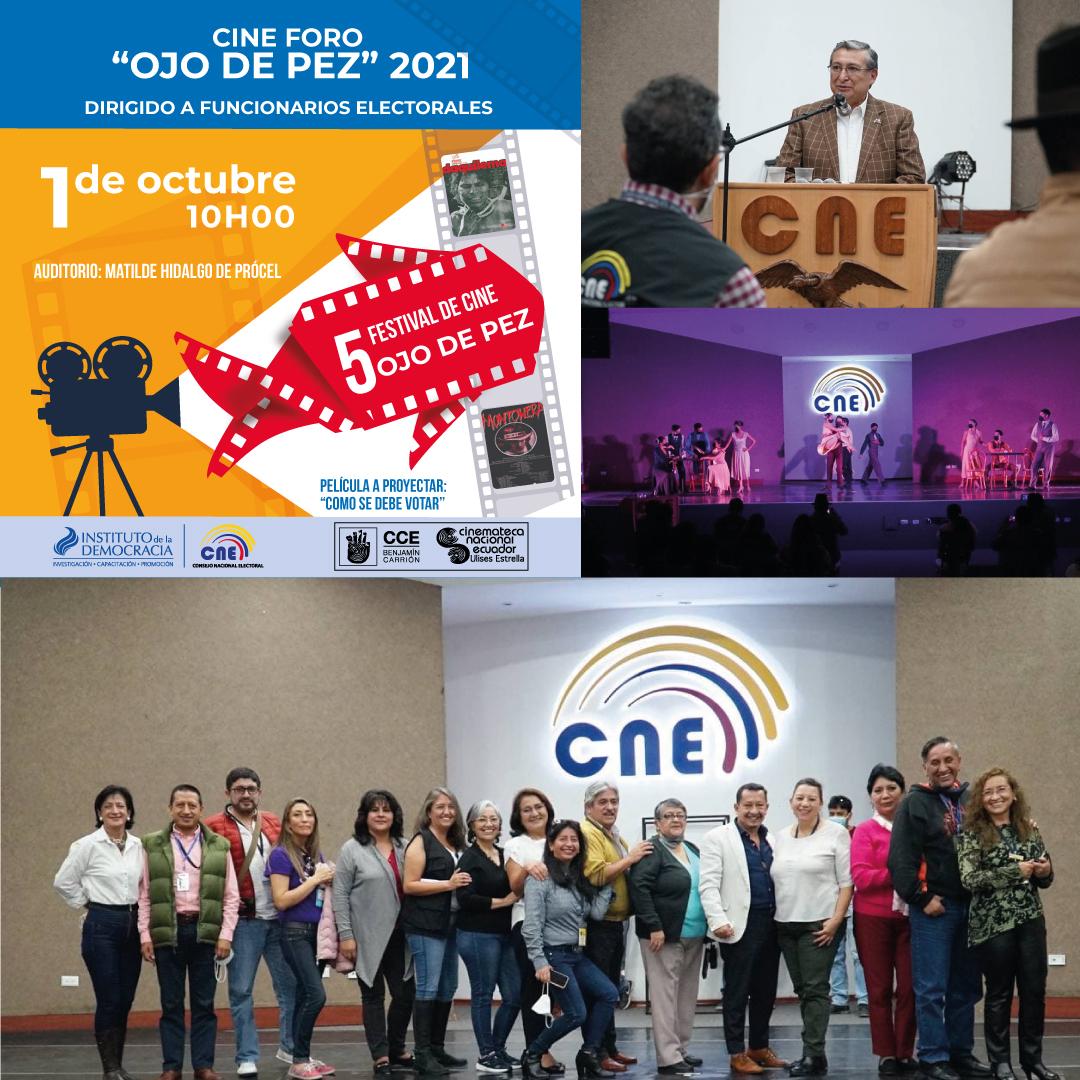 """FESTIVAL DE CINE FORO OJO DE PEZ 2021"""